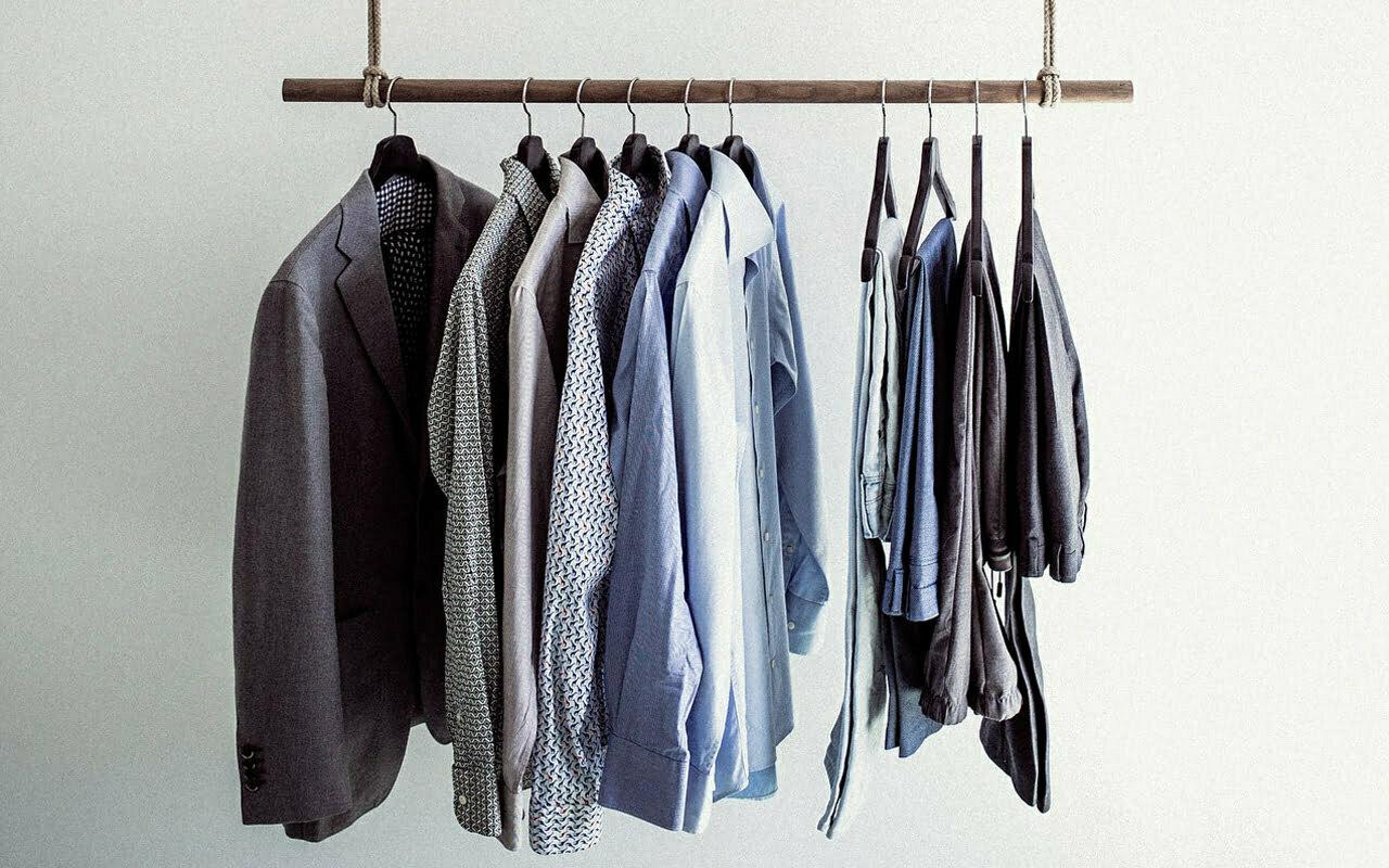 minimale kledingkast