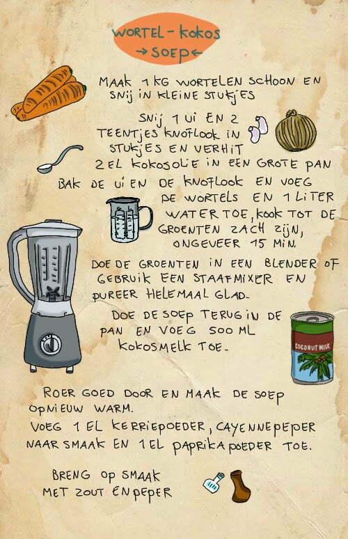 Wortel kokos soep, Céline Schroeder