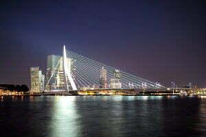 Skyline Rotterdam. Foto: Roman Boed, Flickr