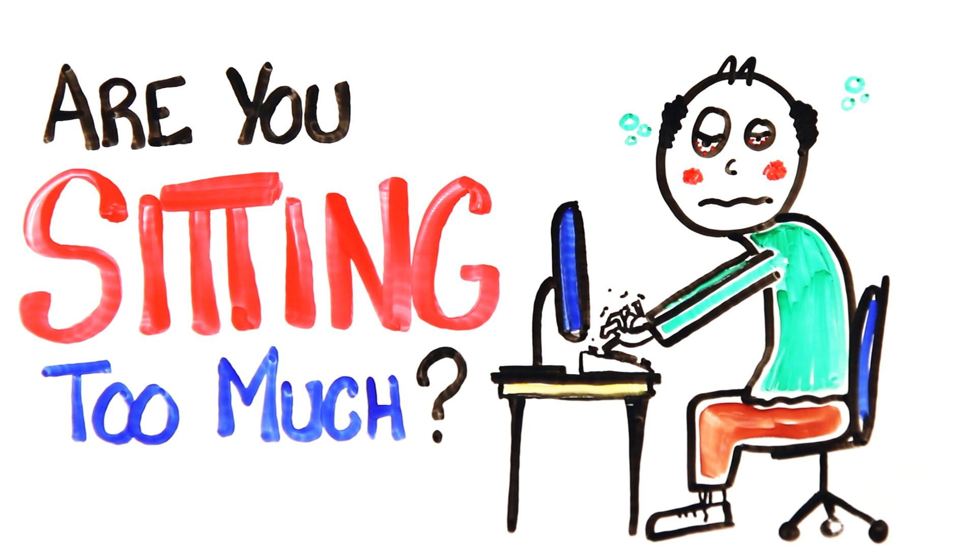 Waarom zitten enorm slecht voor je gezondheid is (video)