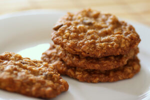 Oatmeal cookies. Foto: Stacy Spensley. Source: Flickr. no changes made