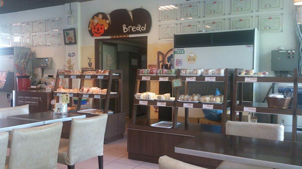 Het bedrijfsrestaurant van Taiwan Beer, waar men de overgebleven productiegerst gebruikt om brood van te bakken. (Bron: Alexander Prinsen, Creative Commons)