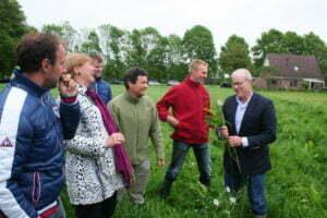 Voedseltransitie in de praktijk met expert Joel Salatin. Foto: Estelle Franssen