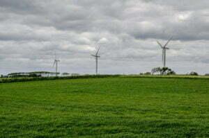 Windmolens op het eiland Samsø. Foto: David Huang, Flickr