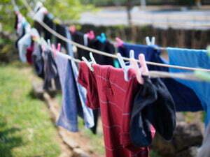 De was ophangen, een gemakkelijke manier om energie (en geld) te besparen. Foto: Kim MyoungSung, Flickr
