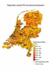 Per regio kan de opbrengst van zonnepanelen behoorlijk. Foto: solardays