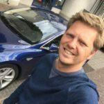 Tesla-selfie door Frissewind