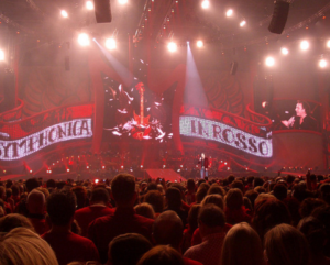 Marco Borsato in concert. Foto: Dan Kamminga, Flickr, CC BY 2.0