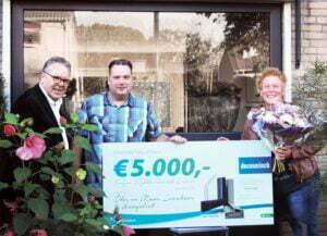 Winnaars Facebook actie Deceuninck - Foto: Deceuninck