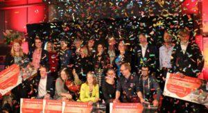 Winnaars ASN Bank Wereldprijs. Foto: Voor de Wereld van Morgen.