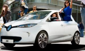 De Renault Zoe is één van de beste verkopende e-auto's. Foto:  Renault.nl