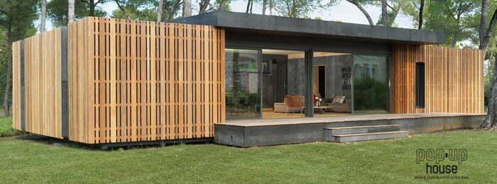 Dit energieneutrale huis kost maar for Goedkope woning bouwen