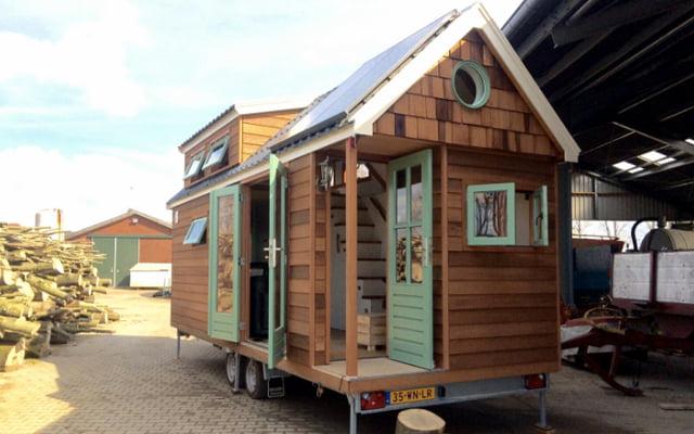 samenwonen tiny house