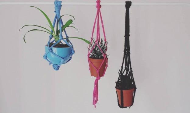 DIY – Maak je eigen macramé plantenhanger
