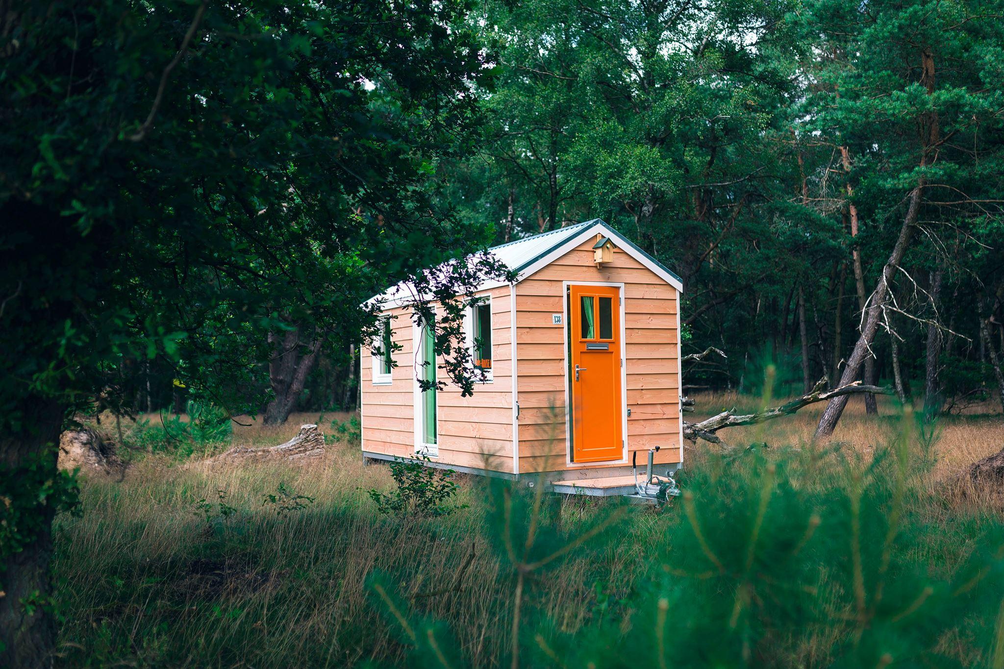 Dimka Wentzel bouwt tiny houses