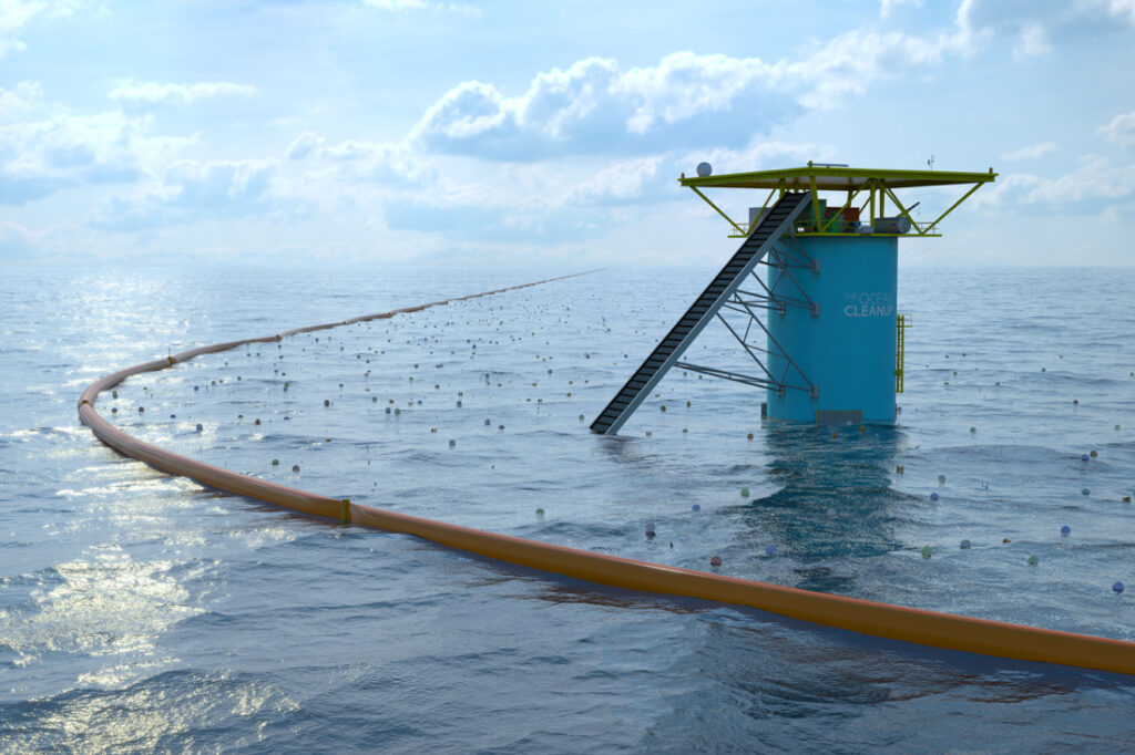 Afbeelding: The Ocean Cleanup
