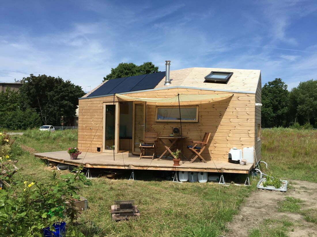 Marjolein haar tiny house mag blijven!