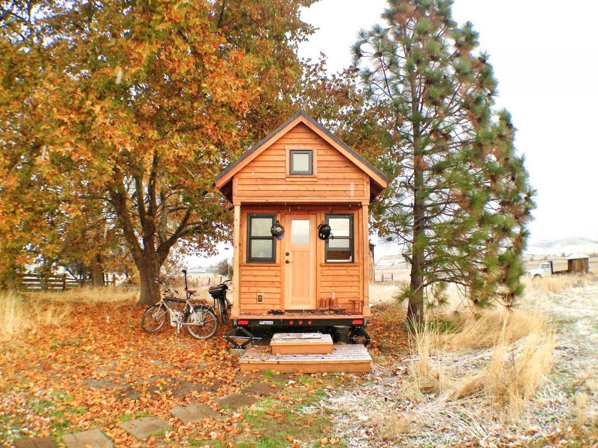 Tiny house zoekt een bewoner
