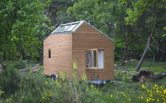 Op deze dagen kun je kijken in de tiny house van Marjolein