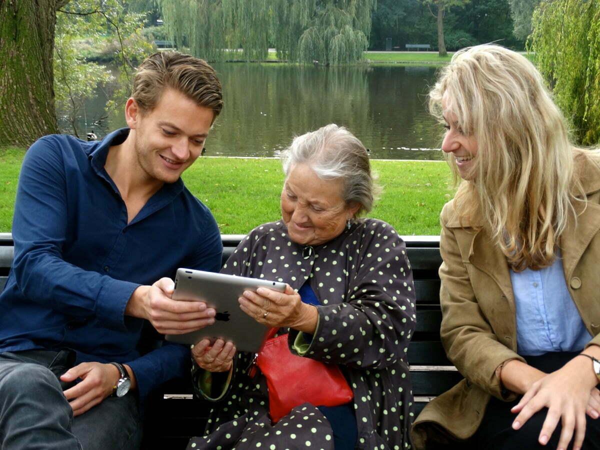 Klup - een app voor senioren
