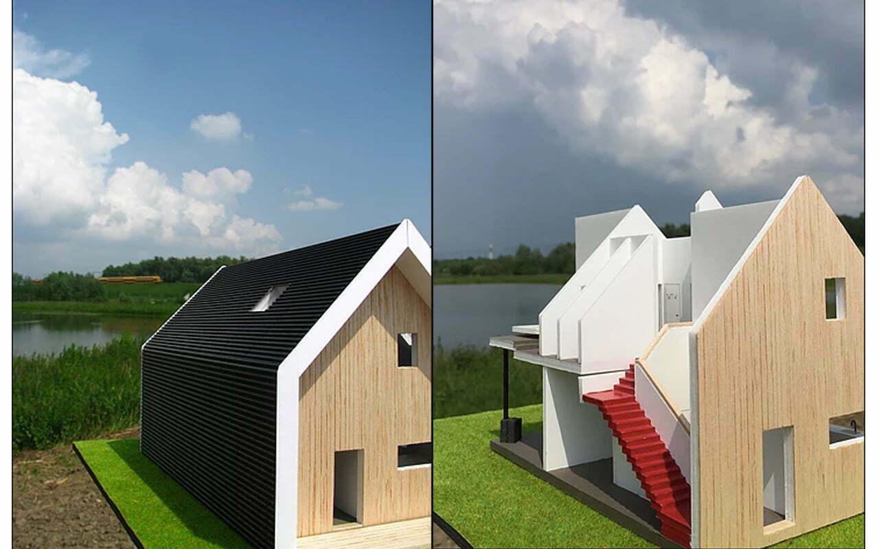 Jasper ontwerpt en bouwt zijn eigen ecohuis