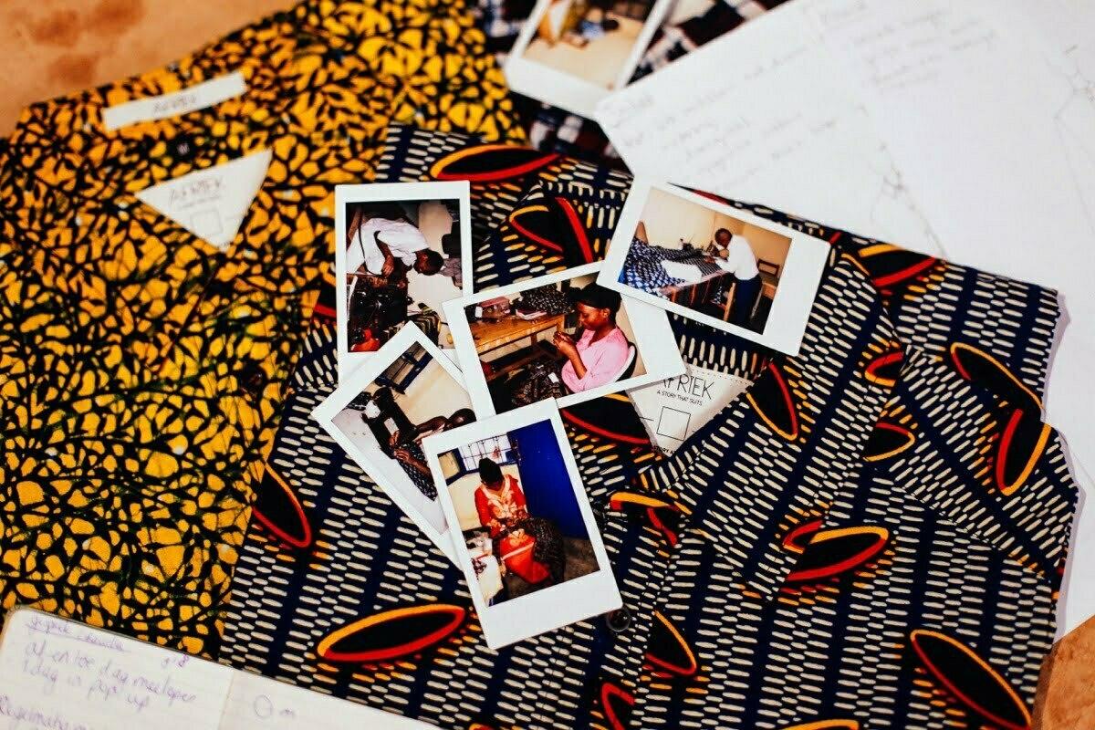 Afriek - Milan Gina (duurzaam kledinglabel)