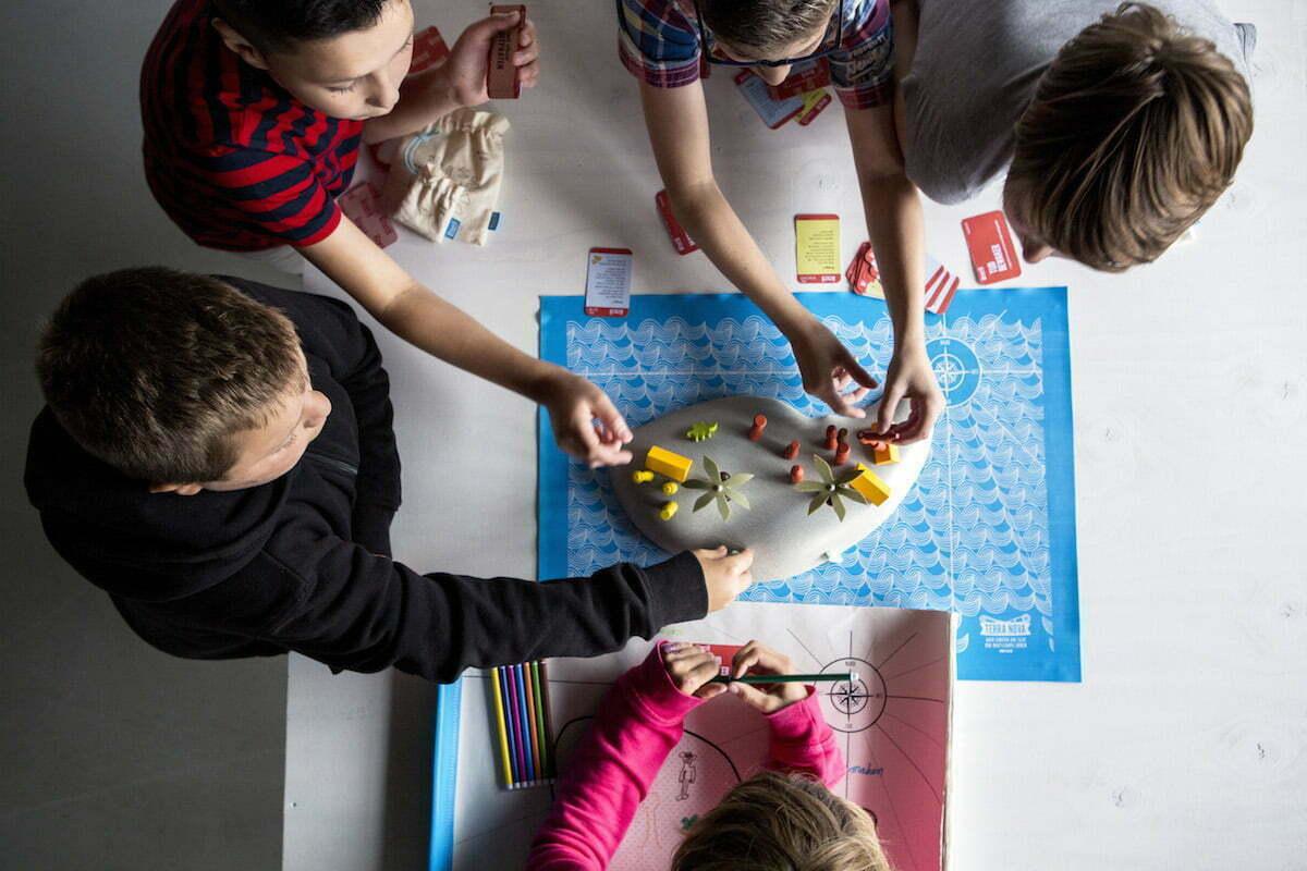 Terra Nova is een bijzonder spel voor kinderen