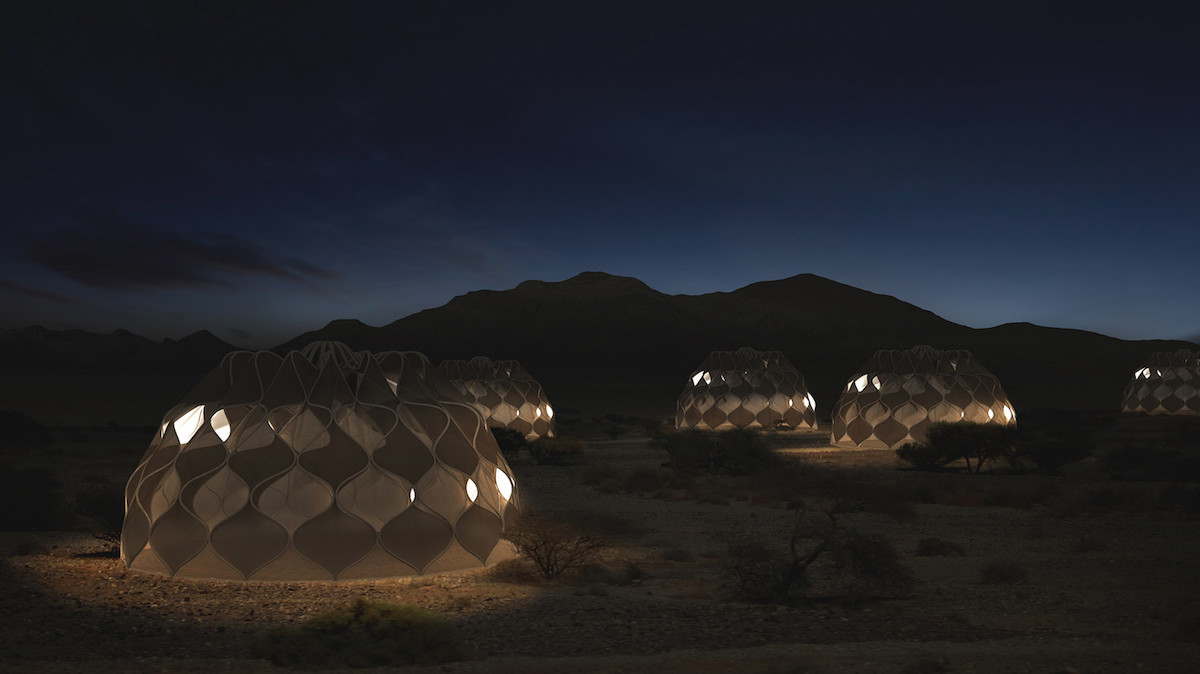 Afbeelding: Abeer Seikaly (tent)