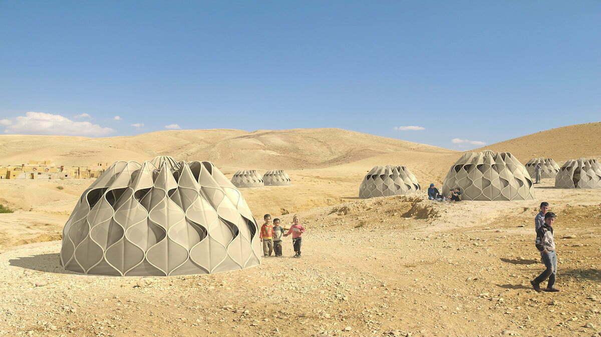 Deze tent kan regenwater en zonne-energie opslaan!