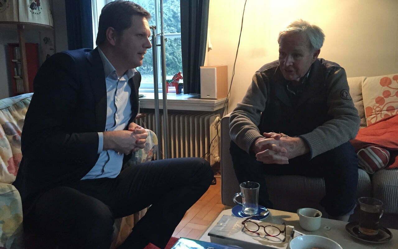 Matthijs Sienot en Jan Terlouw