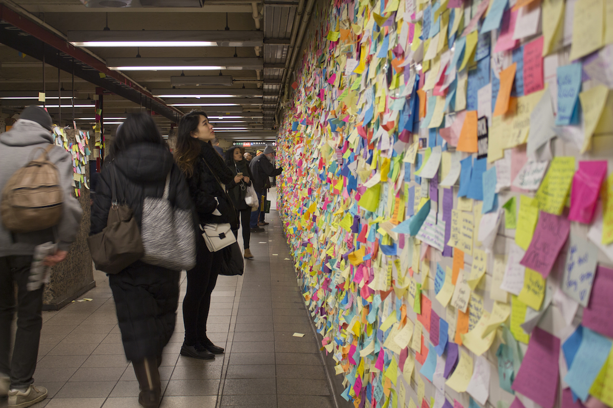 Subway Therapy brengt mensen bij elkaar op een bijzondere manier