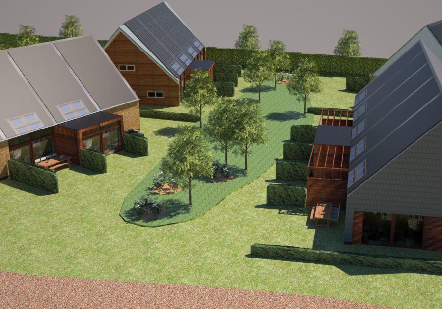 eco-wijk midden in de stad