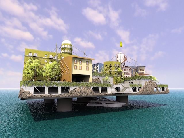 The SeaSteading Institute - Andr†s Gyorfi
