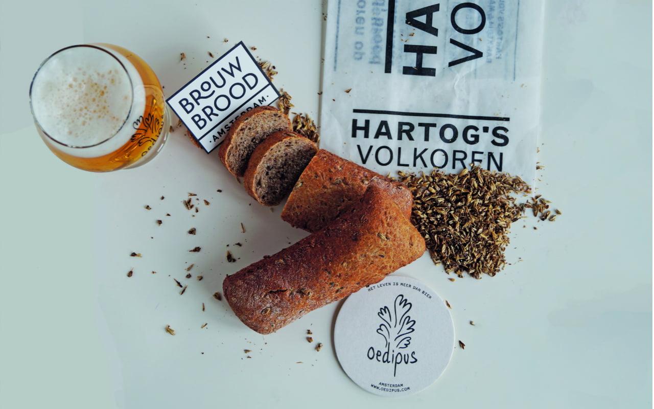 BrouwBrood maakt brood met een bijzonder ingrediënt