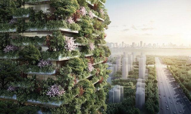 Forest City - Stefano Boeri Architetti