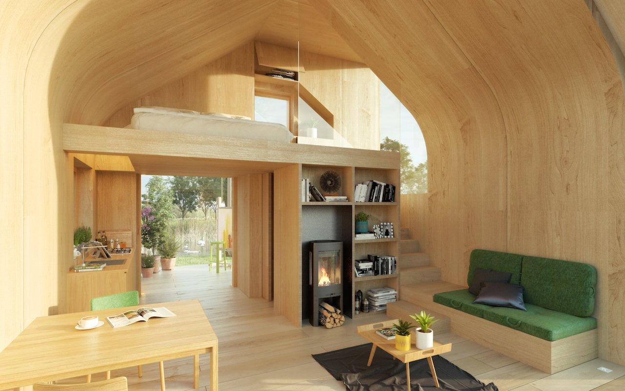 Stel je eigen gezinswoning of tiny house samen