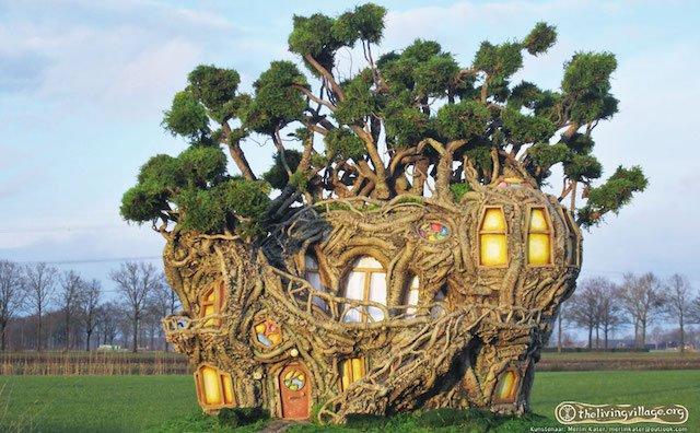 The Living Village Festival Merlin Kater