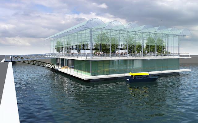 Rotterdam krijgt een drijvende boerderij