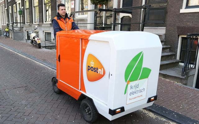 Postbezorging per e-bike