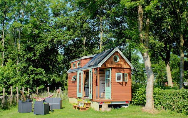 Deze tiny houses staan (bijna) in Nederland