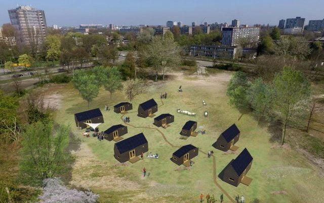 Haarlem zegt 'ja' tegen 10 tiny houses