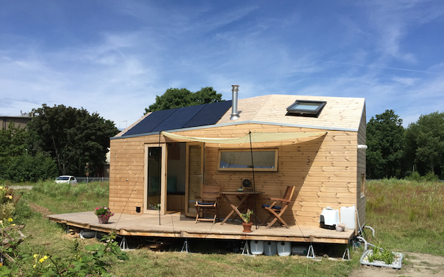 Marjolein Jonker Tiny house