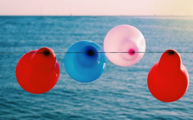 Onbewuste vervuilers ballonnen