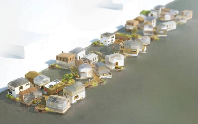 Schoonschip drijvende woonwijk
