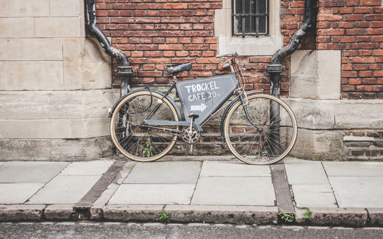 flexibele fietskoerier