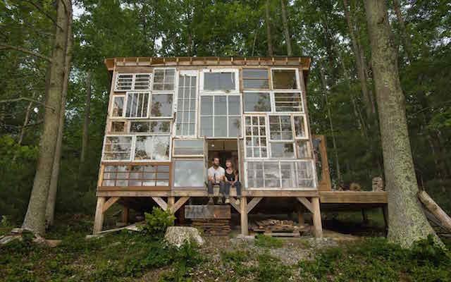 Deze mensen bouwden hun eigen droomhuis