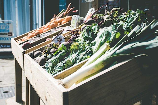 groente minder plastic