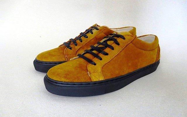Deze schoenen zijn gemaakt van paddestoelenleer