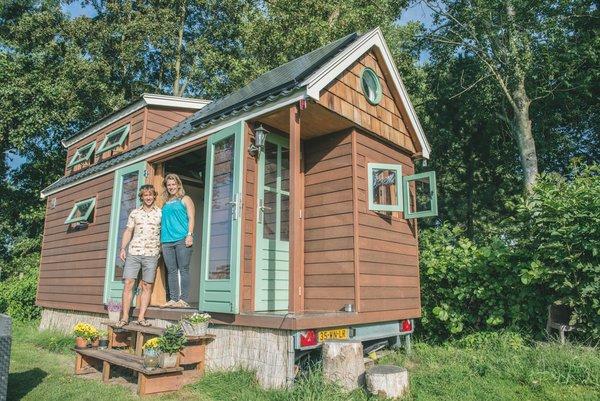25 verhalen over leven in een Tiny House