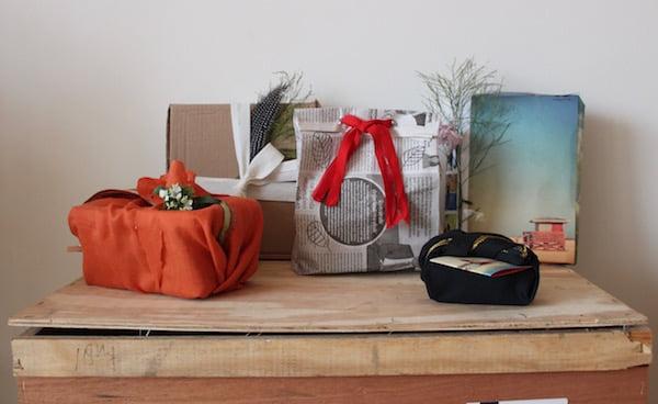 cadeaus inpakken zonder inpakpapier